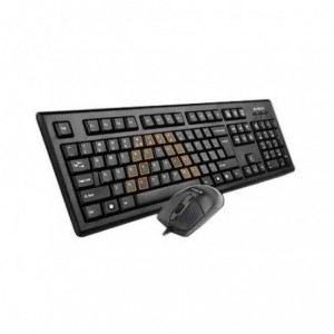 Kit A4Tech KRS-8572 : Tastatura + Mouse, Usb - ACOMI.ro