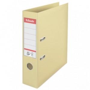 Biblioraft plastifiat de 7.5 cm, scoica, A4,  ESSELTE No.1 - ACOMI.ro