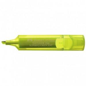 Textmarker Superfluorescent 1546 Faber Castell - galben