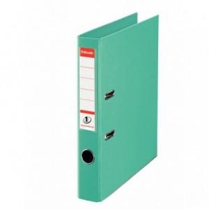 Biblioraft plastifiat de 5.0 cm, menta, A4, ESSELTE No.1 - ACOMI.ro