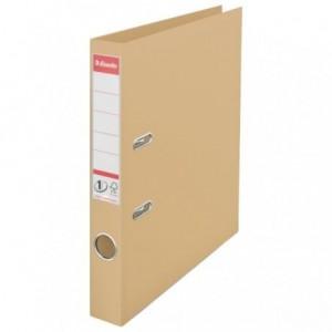 Biblioraft plastifiat de 5.0 cm, nisipiu, A4, ESSELTE No.1 - ACOMI.ro