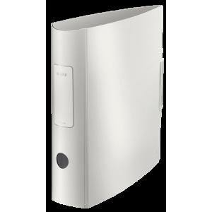 Biblioraft polyfoam PP, 7.5cm, alb arctic, Leitz 180° Active Style - ACOMI.ro