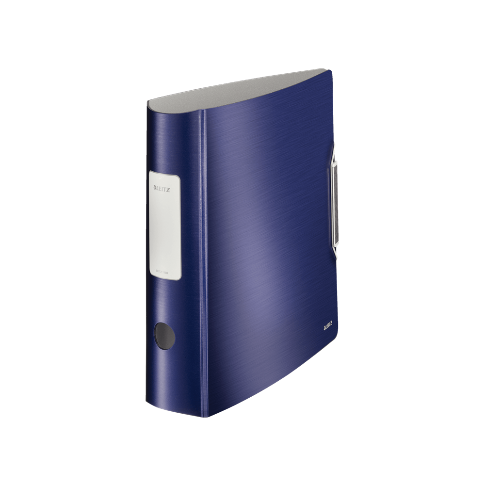Biblioraft polyfoam PP, 7.5cm, albastru-violet, Leitz 180° Active Style - ACOMI.ro