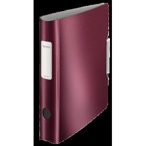 Biblioraft polyfoam PP, 5.0cm, grena, Leitz 180° Active Style - ACOMI.ro