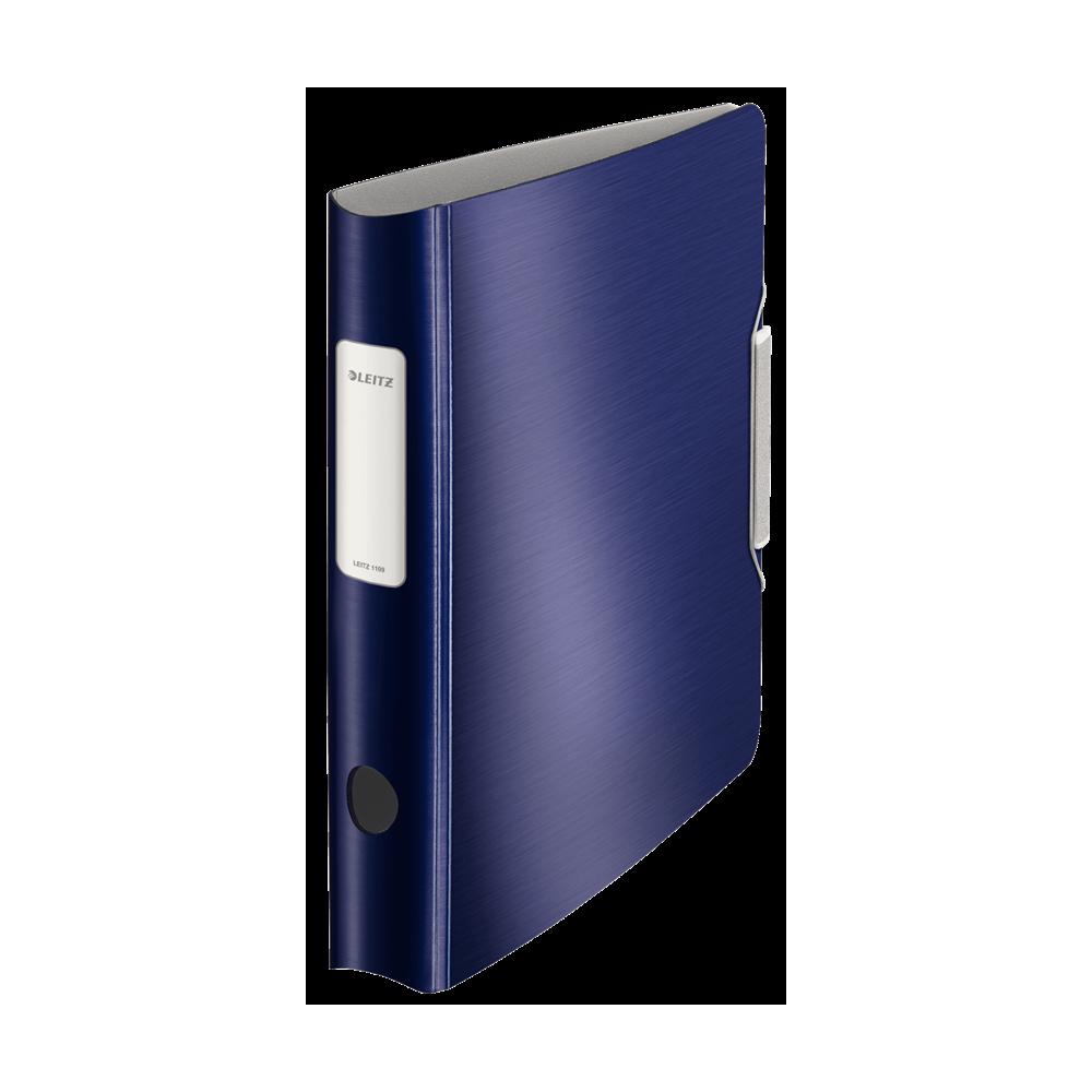 Biblioraft polyfoam PP, 5.0cm, albastru-violet, Leitz 180° Active Style - ACOMI.ro