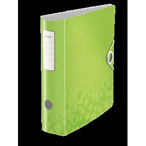 Biblioraft polyfoam PP, 7.5cm, verde metalizat, Leitz 180° Active Wow - ACOMI.ro