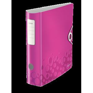 Biblioraft polyfoam PP, 7.5cm, roz metalizat, Leitz 180° Active Wow - ACOMI.ro