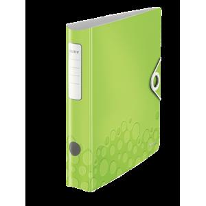 Biblioraft polyfoam PP, 5.0cm, verde metalizat, Leitz 180° Active Wow - ACOMI.ro