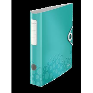 Biblioraft polyfoam PP, 5.0cm, turcoaz metalizat, Leitz 180° Active Wow - ACOMI.ro