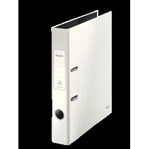 Biblioraft carton laminat, 5.0cm, alb, Leitz 180° Wow - ACOMI.ro
