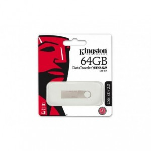 Memorie USB 3.0 64GB DT SE9 G2 METALIC KINGSTON - ACOMI.ro