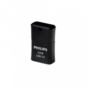 Memorie USB 3.0 32GB PICO EDITION BLACK PHILIPS - ACOMI.ro