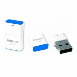 Memorie USB 2.0 16GB PICO EDITION BLUE PHILIPS - ACOMI.ro