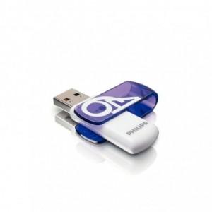 Memorie USB 2.0 64GB VIVID EDITION PURPL PHILIPS - ACOMI.ro