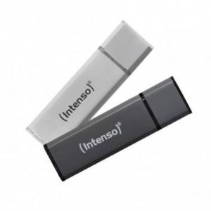 USB Flash Drive 32GB, antracit, Alu Line INTENSO - ACOMI.ro