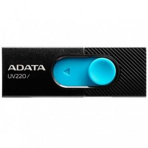 Memorie USB  UV220 16GB, negru/albastru, ADATA - ACOMI.ro