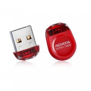 Memorie USB 16GB AUD310, rosu, ADATA - ACOMI.ro