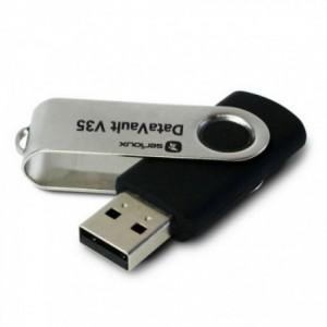 Memorie USB 4GB, negru, USB 2.0, DATAVAULT V35 SERIOUX - ACOMI.ro