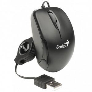 Mouse Optic Genius MicroTraveler V2, negru - ACOMI.ro