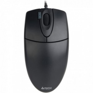 Mouse Optic A4TECH OP-620D, negru - ACOMI.ro