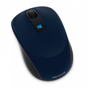 Mouse Wireless Microsoft Sculpt Mobile, albastru - ACOMI.ro