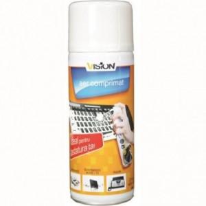 Spray curatare cu aer 400 ml Vision - ACOMI.ro