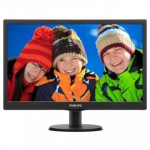 "Monitor 18.5"" WLED PHILIPS, FWXGA 1366*768, TN, 16:9 - ACOMI.ro"