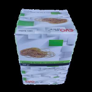 Elastice cauciuc natural 1.7 mm, diametru 50 mm,500g/cutie EVOffice - ACOMI.ro