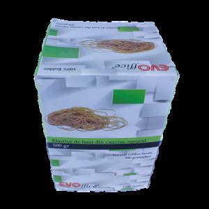 Elastice cauciuc natural 5.0 mm, diametru 70 mm,500g/cutie EVOffice - ACOMI.ro
