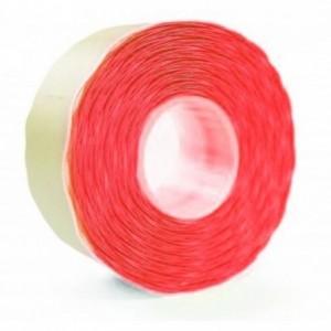 Etichete autoadezive pentru marcatoare, 26 x 16mm, 1000 etichete/rola, rosu fluorescent, PRIX - ACOMI.ro