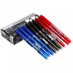 Roller AIHAO 4370 varf de 0.5mm negru - se poate sterge
