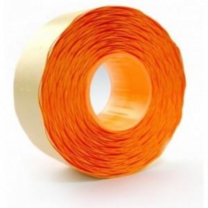 Etichete autoadezive pentru marcatoare, 26 x 16mm, 1000 etichete/rola, portocaliu fluorescent, PRIX - ACOMI.ro