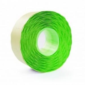 Etichete autoadezive pentru marcatoare, 26 x 12mm, 1500 etichete/rola, verde fluorescent, PRIX - ACOMI.ro