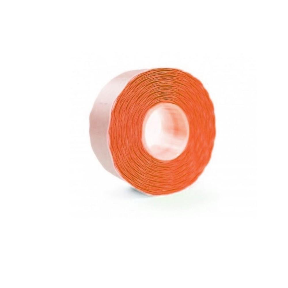Etichete marcatoare 26 x 12 mm, 1500 buc/rola, portocaliu fluorescent - ACOMI.ro