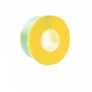 Etichete marcatoare 26 x 12 mm, 1500 buc/rola, galben fluorescent - ACOMI.ro