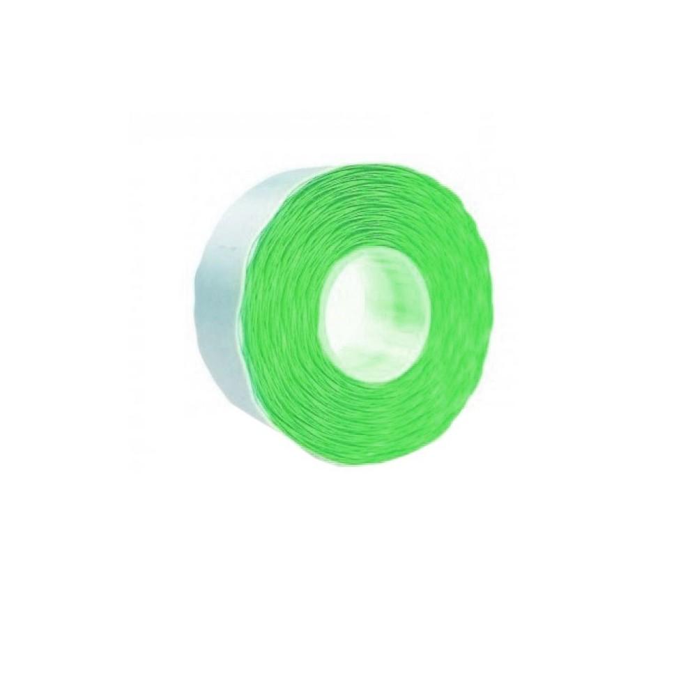 Etichete marcatoare 26 x 12 mm, 1500 buc/rola, verde fluorescent - ACOMI.ro