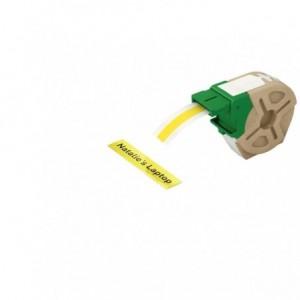 Cartus inteligent cu etichete de plastic 12 mm x 10 m, galben, Leitz Icon - ACOMI.ro