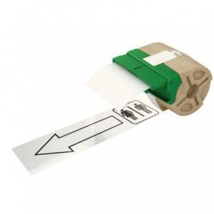 Cartus inteligent cu etichete de plastic 88 mm x 10 m, alb, Leitz Icon - ACOMI.ro