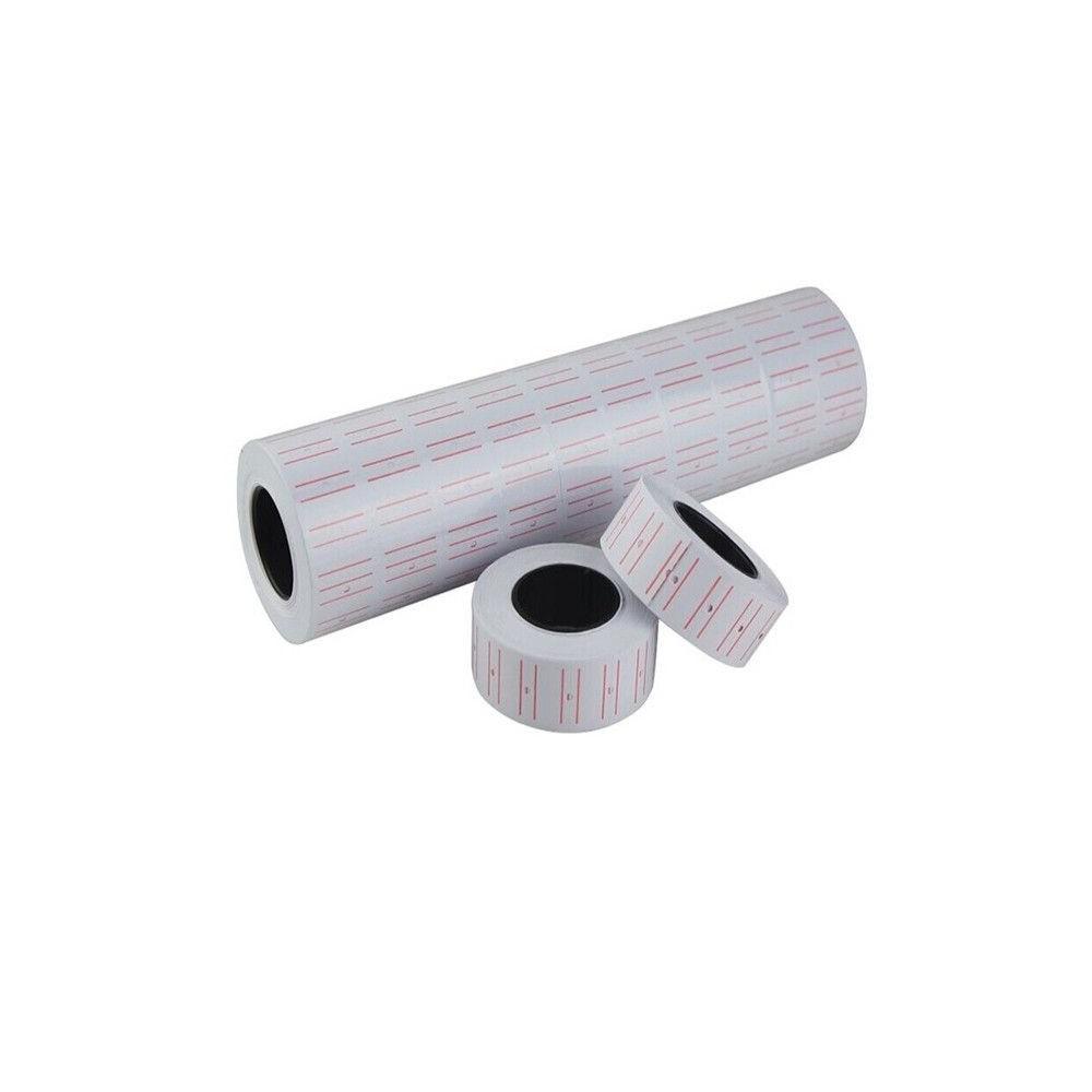 Etichete pret albe, 1 linie, 21x12 mm, 500 buc/rola, 10 role/set - ACOMI.ro