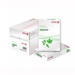 Hartie reciclata A4, 80 g/mp, 500 coli/top, XEROX Recycled+ - ACOMI.ro