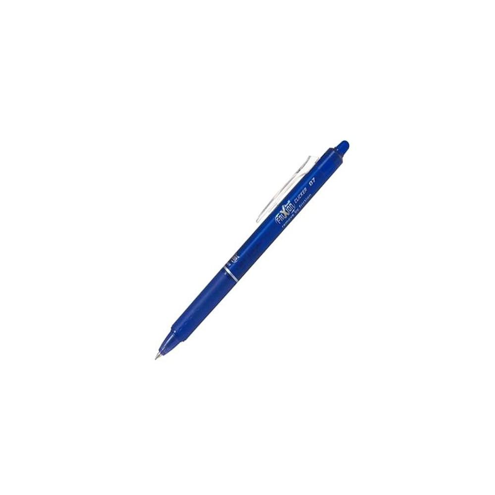 Roller PILOT Frixion Clicker - 0.7mm, albastru