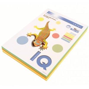 Hartie  A4  Rainbow Pastel,  80 g/mp, 250 coli/top, IQ Color - ACOMI.ro