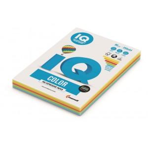 Hartie  A4  Rainbow Intense,  160 g/mp, 100 coli/top, IQ Color - ACOMI.ro