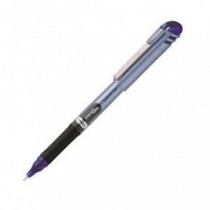 Roller cu gel fara mecanism Pentel Energel  0.5mm, albastru