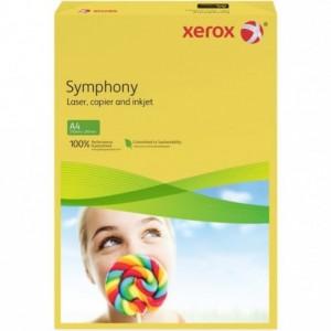 Hartie A4 galben canar Mid, 80 g/mp, 500 coli/top, XEROX Symphony - ACOMI.ro