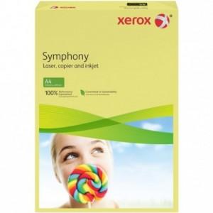 Hartie A4 galben Mid, 80 g/mp, 500 coli/top, XEROX Symphony - ACOMI.ro