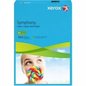 Hartie A4 albastru intens Intens, 80 g/mp, 500 coli/top, XEROX Symphony - ACOMI.ro