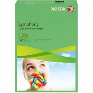 Hartie A4 verde Intens, 80 g/mp, 500 coli/top, XEROX Symphony - ACOMI.ro