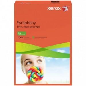 Hartie A4 rosu Intens, 80 g/mp, 500 coli/top, XEROX Symphony - ACOMI.ro