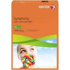 Hartie A4 portocaliu Intens, 80 g/mp, 500 coli/top, XEROX Symphony - ACOMI.ro
